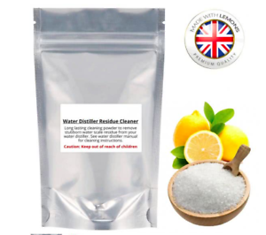 Foil Sealed Water Residue Cleaner For All Water Distillers 500g #Megahome