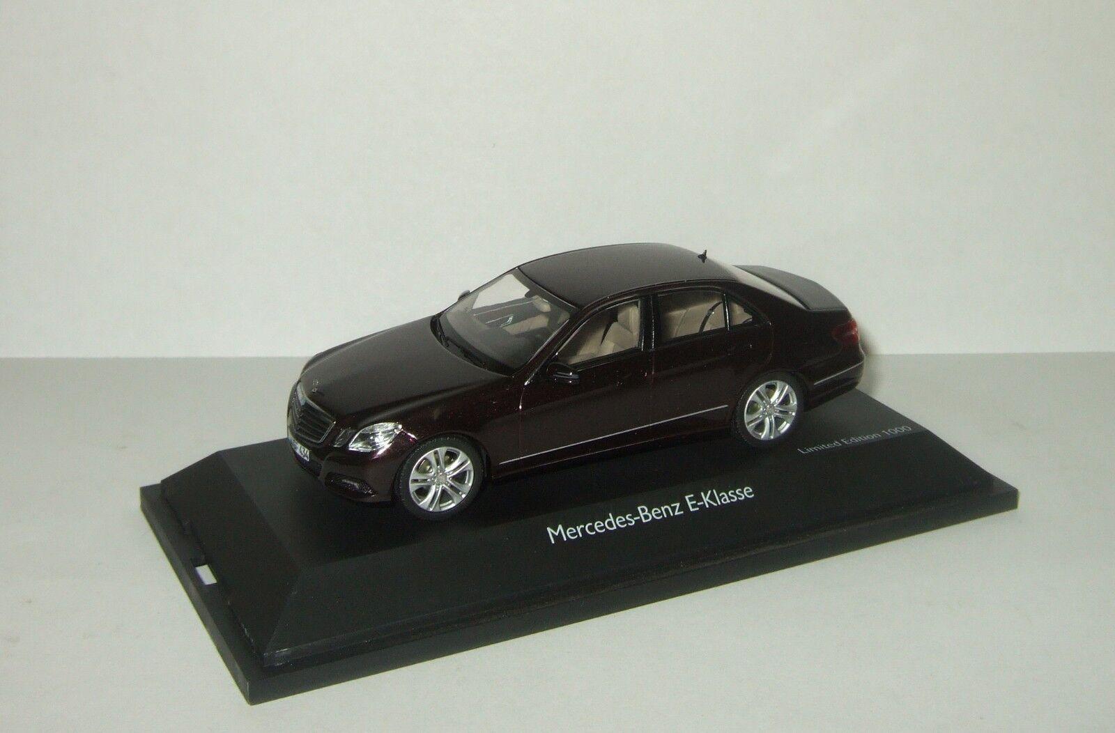 Limousine Mercedes Benz E klasse W212 Avantgarde Schuco 1 43 450732400