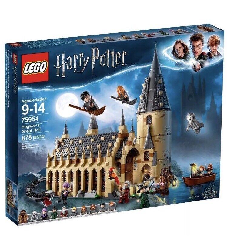 Lego Harry Potter Wizarding World Hogwarts Great Hall New 2018 75954