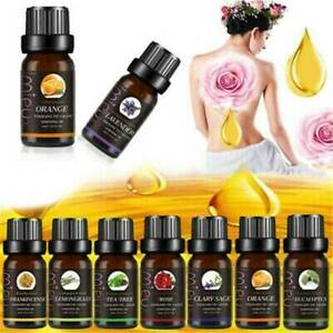 Aromatherapy-Essential-Oils-100-Natural-Pure-Essential-Oil-Fragrances-10ml