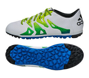 reputable site d25f0 f3155 Image is loading Adidas-X-15-3-TF-S74662-Turf-Shoes-
