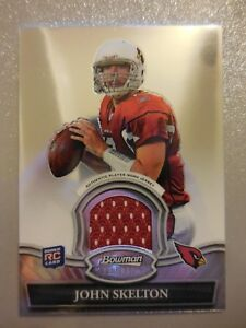 2010-Bowman-Sterling-Jersey-Rookie-RC-John-Skelton-Cardinals