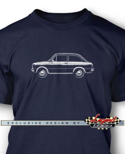 Italian Classic Car Fiat 850 Special Coupe Men T-Shirt Multiple Colors Sizes