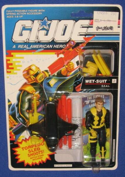 G.I Joe version 3 1992 Wet Suit ARAH