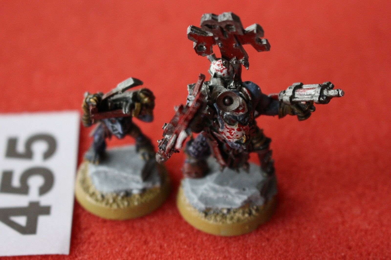 Games Workshop Warhammer 40k Orks Painboy with Gred Orderly Well Painted Figure