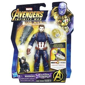 Marvel-Avengers-Infinity-War-Captain-America-Action-Figure-with-Stone