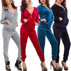 Tuta-donna-velluto-velour-CINIGLIA-velluto-giacca-zip-CAPPUCCIO-nuova-F201