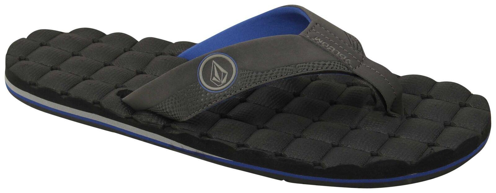 Volcom Recliner Sandal - bluee Combo - New