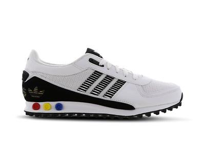 Mens Adidas LA Trainer II White/Black
