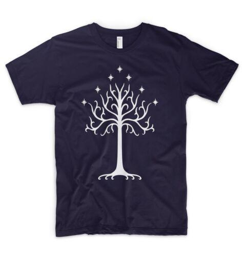 Tree Of Gondor T-Shirt Herr der Ringe Hobbit Saruman Gandalf Frodo Lotr