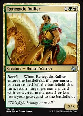 NM-Mint Aether Revolt English 4x Renegade Rallier