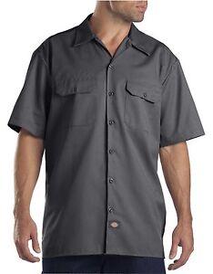 Dickies Dark Navy 1574 Traditional Short Sleeve Work Shirt Size S-3XL NWT