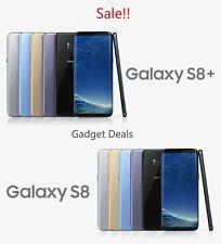 Samsung Galaxy S8 (SM-G950W) / S8+ Plus (SM-G955W ) Grey / Black -Canadian Model