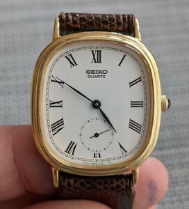 Seiko Quarz 2628 vintage Uhr / vintage dress watch