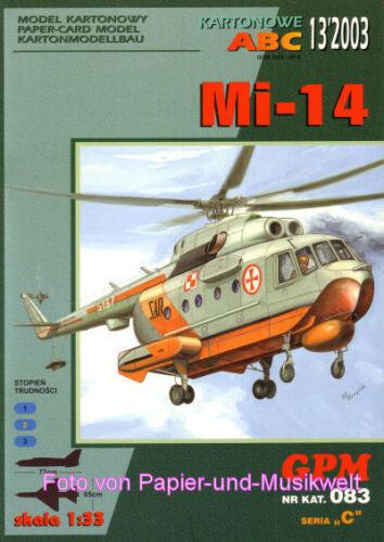 GPM  83 Hubschrauber Mil Mi-14-1:33