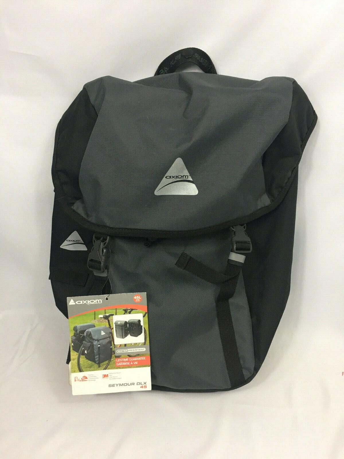 Axiom Bag Axiom Pannier Seymour O-Weave P55 404040-01 Grey//Black