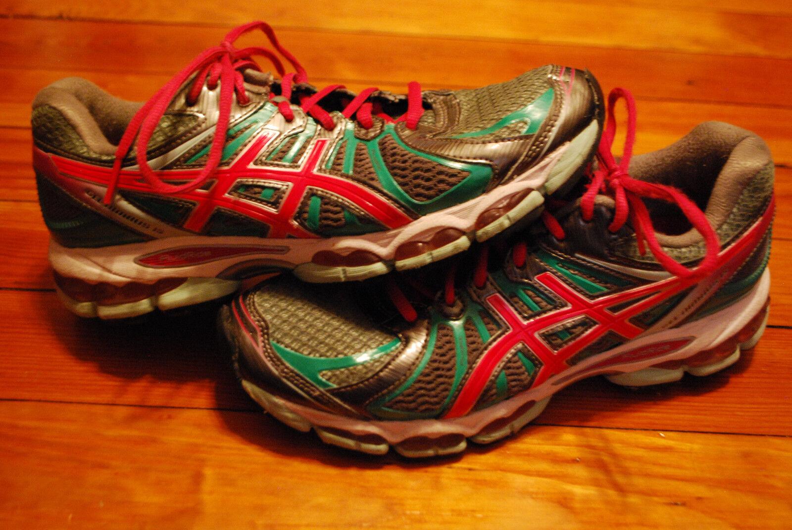 femmes  Asics Gel Nimbus 15 Aqua / Magenta Running Sneaker (9.5)
