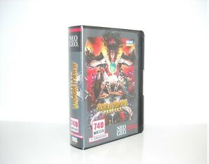 Samurai-Shodown-5-PERFECT-Neo-Geo-AES-USA-neogeo-aes-NCI-NEW-SEALED-with-serial