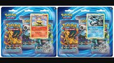 Pokemon XY - Evolutions 3-Booster Blister Pack, Black Kyurem Or Braixen