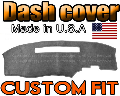 CHARCOAL GREY fits 1994-1997  CHEVROLET S10 DASH COVER DASHBOARD MAT