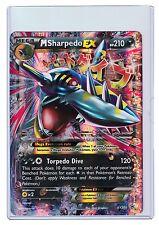 Pokemon XY Mega Sharpedo Ex Box, Mega Sharpedo Ex XY200 Promo, Holo OVERSIZED