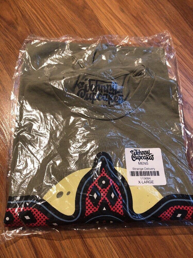 Johnny Cupcakes 2016 Stranger Things Strange Delivery Demogorgon XL T-Shirt New