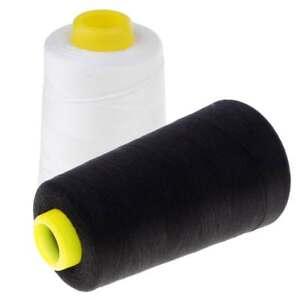 accessori artigianali Filo da cucito nero per punto croce ricamo a mano