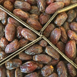 Medjool dates 5 kg qualité premium frais et 100% naturel libre p&p