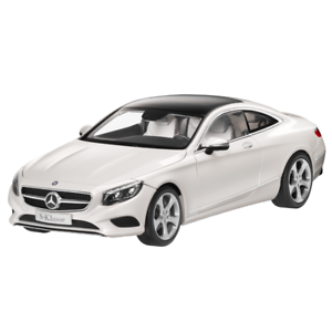 Mercedes-benz c217 clase S Coupé 1:18 maqueta de coche blanco b66961243