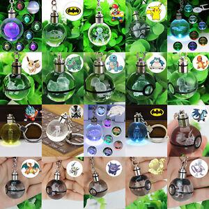 3D-Pokemon-Star-Wars-Crystal-Ball-LED-Night-Light-Key-Ring-Chain-Creative-Gifts