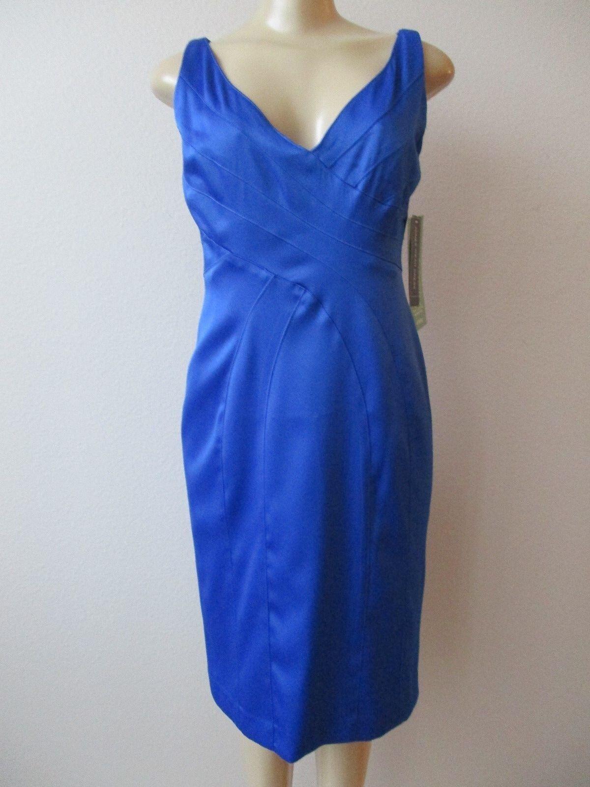 JONES WEAR ROYAL blueE SLEEVELESS DRESS SIZE 8 - NWT