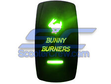 Auto Truck Performance Bunny Burner Part Green Girl Chick Funny Street Race Road