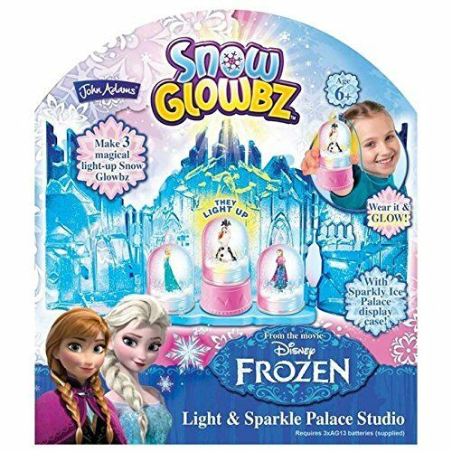 John Adams Disney Frozen Snow glowbz Light /& Sparkle Palace Studio