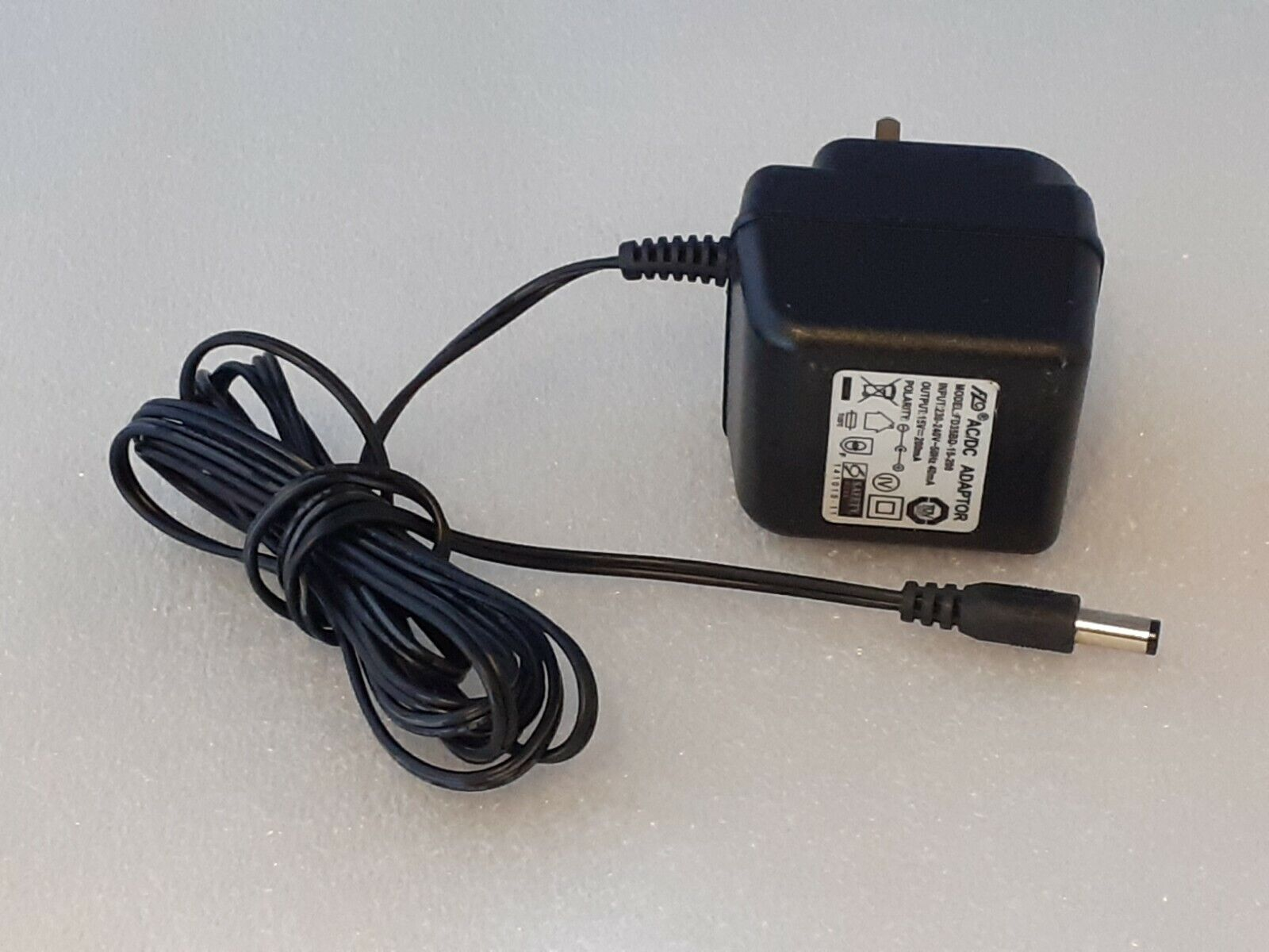 Replacement for 15V AC Adaptor Charger for 200mA