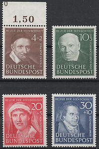 Bund-Mi-Nr-143-146-POSTFRISCH-Sonderpreis-bitte-lesen