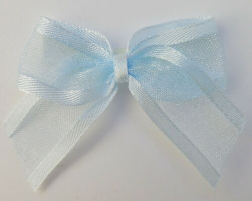 Embellishments 4.5cm Crafts Self Adhesive Satin Edge Organza Ribbon Bows