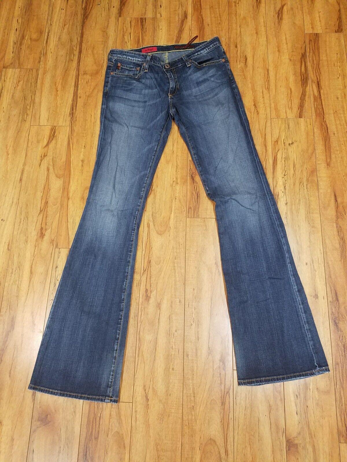 AG Adriano goldschmied The Angel Denim Straight Leg Regular Jeans Women Size 28R