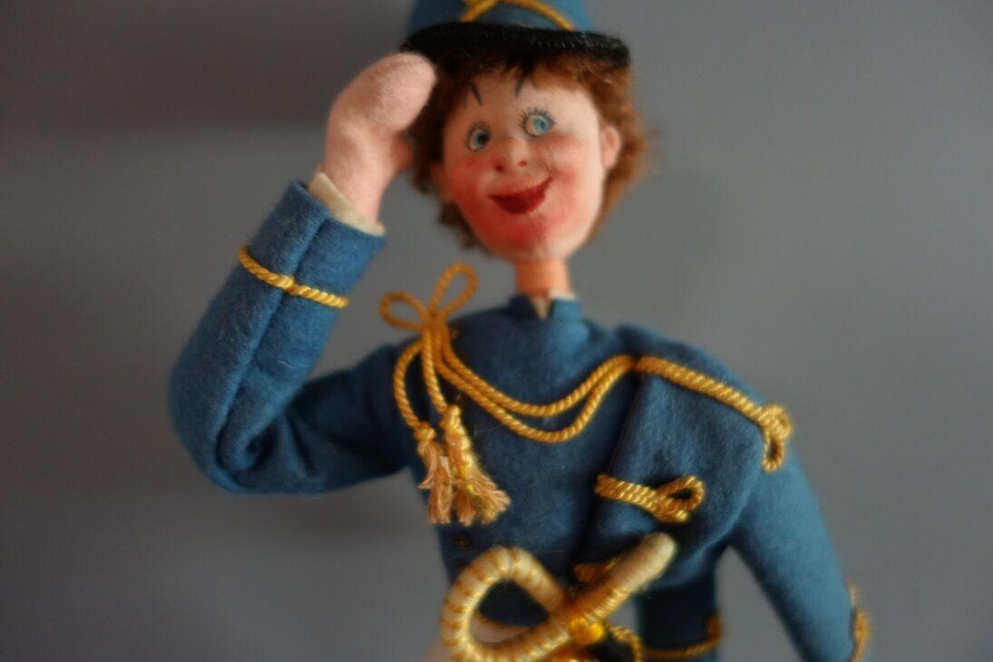 Muñeca De Tela Klumpe soldado