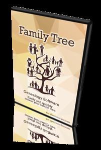 Family Tree Generator Creator Maker Genealogy Research Software Windows Mac Osx Ebay