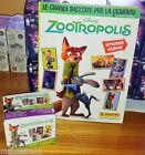 ZOOTROPOLIS DISNEY Album + BOX 50 packets bustine tuten DISPLAY figurine Panini