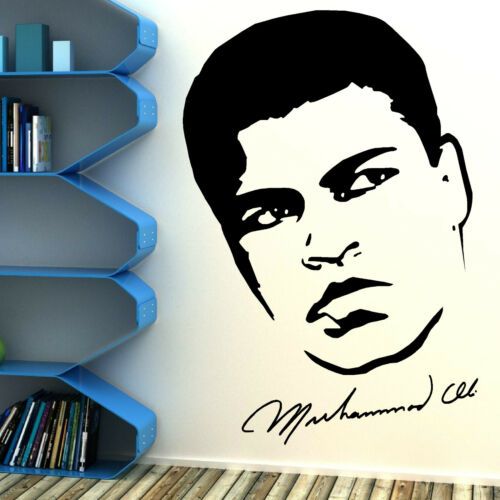 MUHAMMAD ALI BOXER vinyl wall art sticker room decal boxing cassius clay