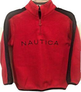 Nautica Boys Fleece Quarter-Zip Sweatshirt