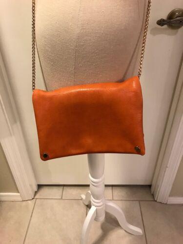 Small Clutch Folded Orange Street crossbody Level EWH29YDI