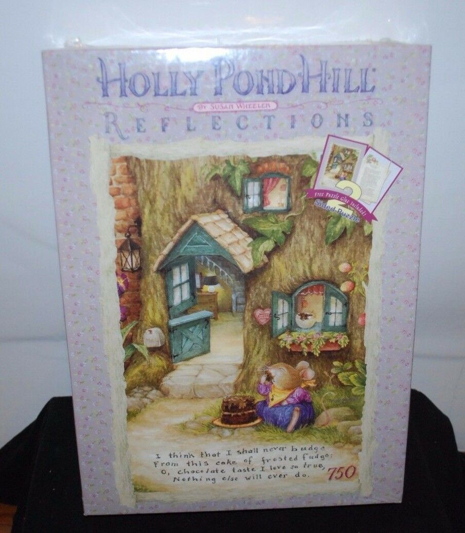 Large 2 Sided Puzzle Holly Pond Hill Susan Wheeler Mouse Puzzles 750