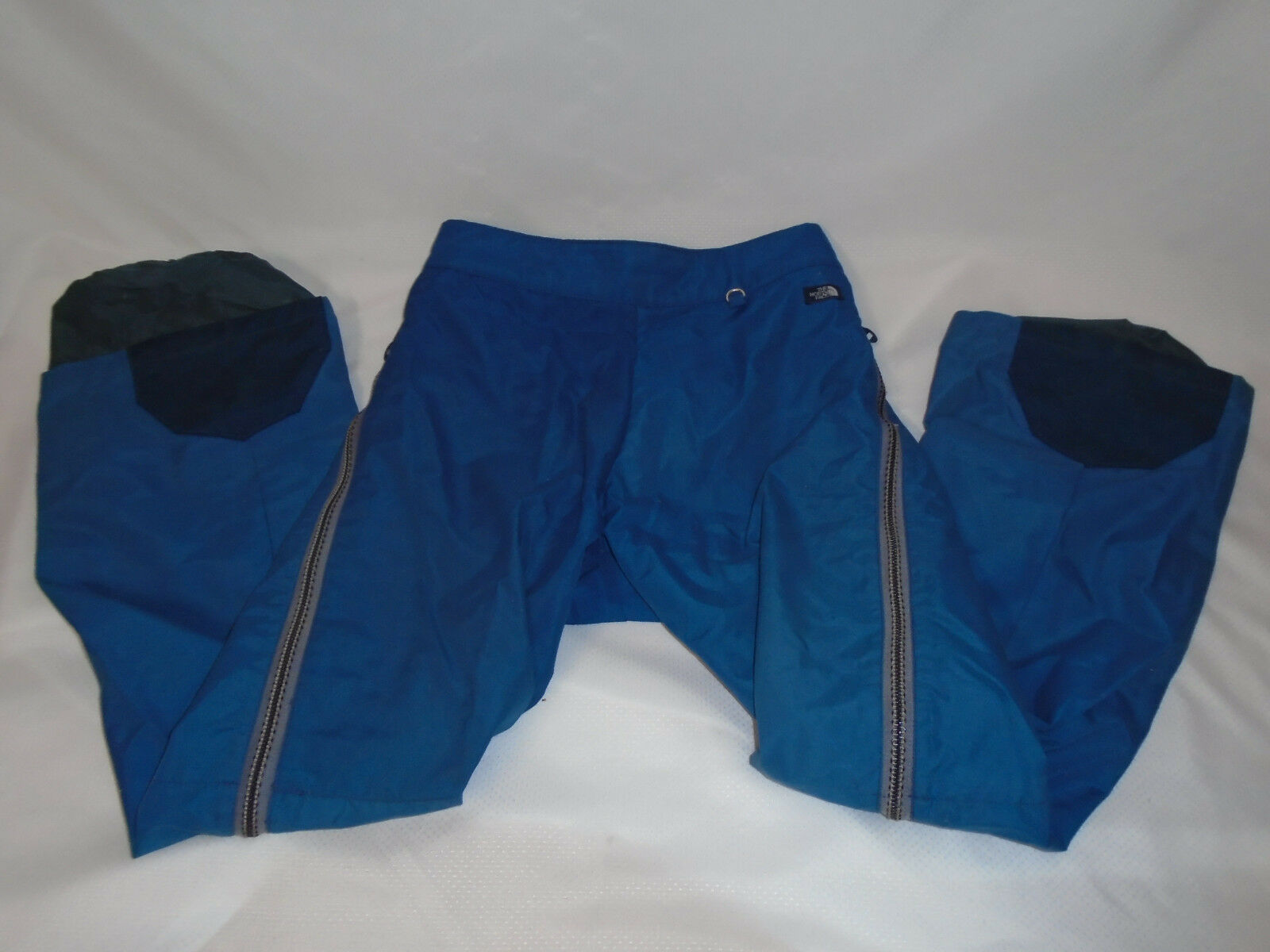 Vtg THE NORTH FACE Downhill Ski Pants GORE-TEX Snow Size Adult M Full leg Zipper