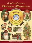 Dover Electronic Clip Art: Full-Color Decorative Christmas Illustrations by Dover Staff (1999, Paperback)