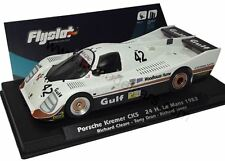 Flyslot Porsche Kremer CK5 Slot Car 1:43 1983 Cleare Dron Jones