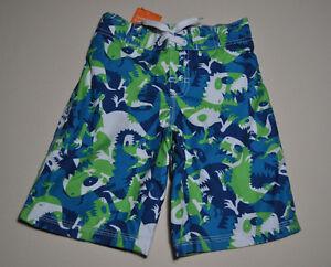 ce150c38c830a Image is loading Gymboree-toddler-boy-dinosaur-swim-shorts-size-12-