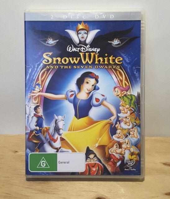 Snow White And The Seven Dwarfs (1937 Disney Movie) DVD 2 DISC SET - REGION 4