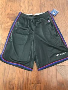 presenting new arrive large discount Details about NEW Men's Champion Core Basketball Shorts Black Size S M or XL